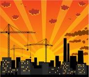 都市视图 免版税库存照片