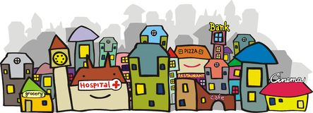 都市视图 免版税图库摄影