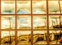 都市视窗 免版税库存照片