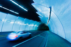 都市隧道 免版税库存照片
