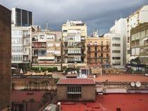 都市露台 库存图片