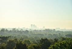 都市风景与早晨:Khon Kaen,泰国 库存图片