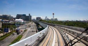 都市风景东京地平线 库存照片