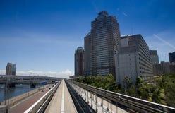 都市风景东京地平线 免版税库存照片