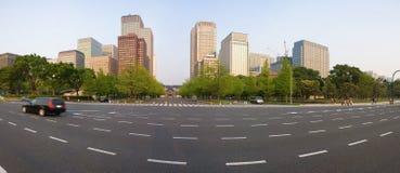都市风景东京 库存照片