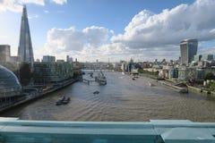 都市风景伦敦 图库摄影