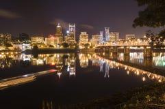 都市风景俄勒冈波特兰视图 免版税图库摄影
