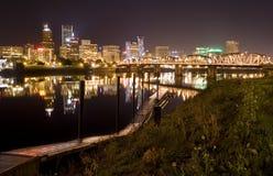 都市风景俄勒冈波特兰视图 图库摄影