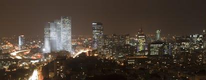都市风景全景 免版税库存图片