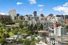 都市风景全视图 免版税库存照片