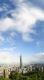 都市风景台北 库存照片