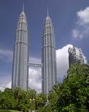 都市风景吉隆坡塔孪生 图库摄影