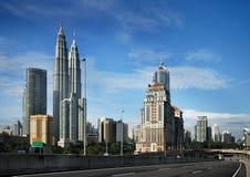 都市风景吉隆坡 免版税库存照片