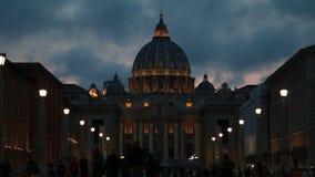 都市风景和普通建筑学从罗马,意大利首都 股票视频