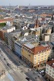 都市风景哥本哈根 免版税图库摄影