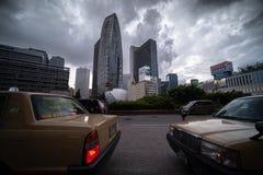 都市风景在东京 免版税库存图片