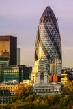 都市风景在伦敦 免版税库存照片