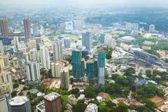 都市风景在吉隆坡 免版税图库摄影