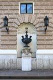 都市风景在布拉索夫 免版税库存图片