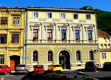 都市风景在布拉索夫 免版税库存照片