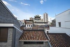 都市风景在广州 免版税库存照片