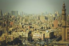 都市风景在开罗,埃及 图库摄影