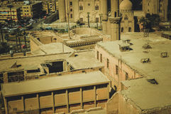 都市风景在开罗,埃及 库存图片