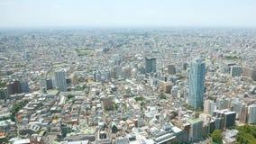 都市风景在日本东京新宿 免版税库存照片