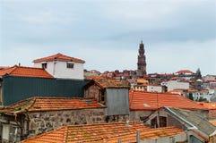 都市风景在波尔图 葡萄牙 免版税库存照片