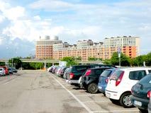 都市风景在费拉拉 免版税库存照片