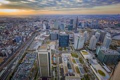 都市风景大厦 免版税库存照片
