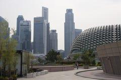 都市风景屋顶细节广场 免版税库存照片