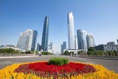 都市风景广州 免版税库存照片