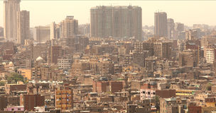 都市风景开罗 图库摄影