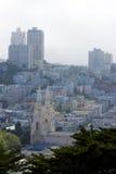 都市风景弗朗西斯科・圣 免版税库存照片