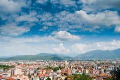 都市风景意大利语 免版税库存图片