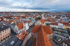 都市风景慕尼黑 免版税库存照片