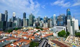 都市风景新加坡 免版税库存照片