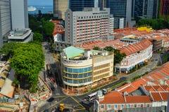 都市风景新加坡 免版税图库摄影