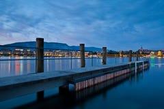 都市风景日内瓦 免版税图库摄影