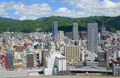 都市风景日本神户 库存照片