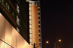 都市风景晚上 免版税库存照片