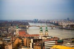 都市风景景色 图库摄影