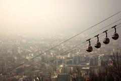 都市风景格勒诺布尔 免版税图库摄影