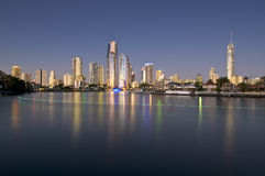 都市风景海岸金子 库存图片