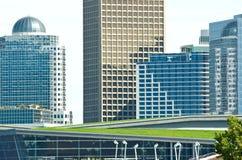 都市风景温哥华 库存照片