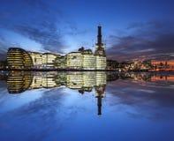 都市风景现代的伦敦 免版税库存图片