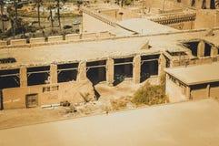 都市风景背景在开罗,埃及 库存图片