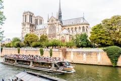 都市风景视图在巴黎 库存照片