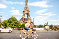 都市风景视图在巴黎 免版税库存照片